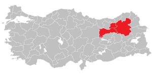 Erzurum Subregion - Image: Erzurum Subregion