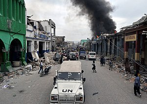 Port-au-Prince, Haiti, after the 2010 earthquake