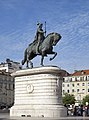 Estatua de Don Juan I, Plaza de Figueira, Lisboa, Portugal, 2012-05-12, DD 03.JPG