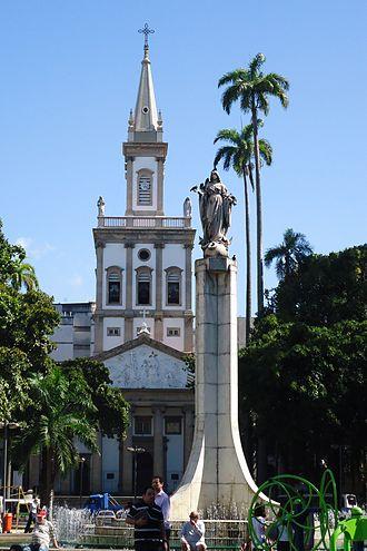 Catete, Rio de Janeiro - Largo do Machado at Catete
