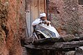 Ethiopia Lalibela PriestPraying.JPG