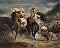 Eugène Delacroix - Combat du Giaour et Hassan (1826).jpg