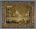 Eugène Emmanuel Viollet-Le-Duc - Le Banquet des dames dans la salle de spectacle des Tuileries (bals de 1835) - P1520 - Musée Carnavalet.jpg