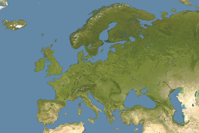 Fil:Europe satellite image location map.jpg