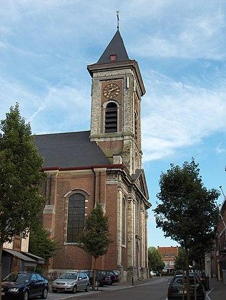 Evergem - Image: Evergem Kerk