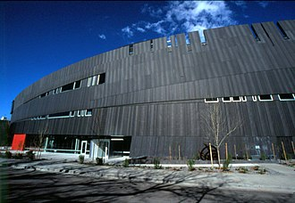 Nevada Museum of Art - Image: Exterior 5 med