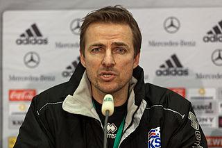 Eyjólfur Sverrisson Icelandic footballer and coach