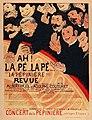 Félix Vallotton - Ah! La Pé...Lapé...La Pépinière!!! Revue, 1898.jpg