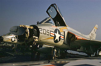 Douglas F4D Skyray - APQ-50A radar of an F4D-1