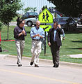 FEMA - 35776 - DHS Secretary Chertoff and FEMA Adminstrator Paulison in Iowa.jpg