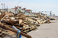 FEMA - 38484 - Debris piled along the seawall on Galveston Island in Texas.jpg