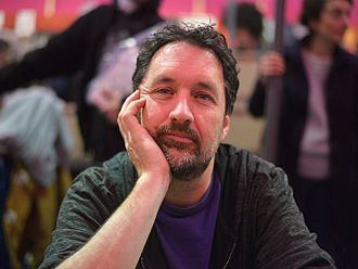 Guy Delisle - Delisle at the 2015 Angoulême International Comics Festival