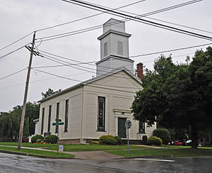 First Baptist Church of Mumford - Image: FIRST BAPTIST CHURCH OF MUMFORD, MONROE COUNTY