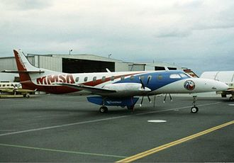 Fairchild C-26 Metroliner - The Multi Mission Surveillance Aircraft in Australia, early 1990s