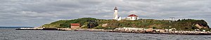 Falkner Island Light - Image: Falkner Island research station lighthouse (11800689493)