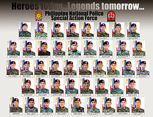 National day of mourning - The 44 police officers who perished during the Mamasapano clash