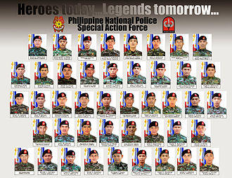 Maguindanao - The 44 police officers who perished during the clash