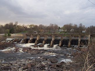 Black River Dam in Black River Falls