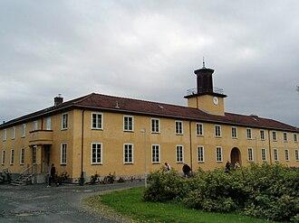 Falstad concentration camp - The main building of the Falstad complex