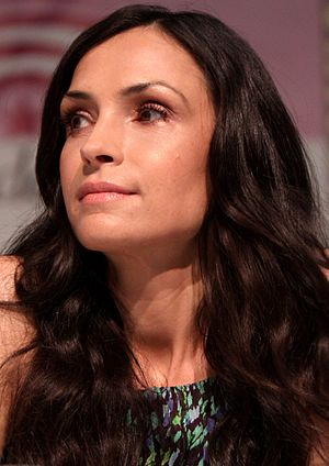 Famke Janssen - Janssen at the 2013 WonderCon