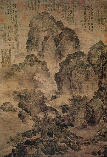 File:Fan Kuan-Sitting Alone by a Stream.jpg