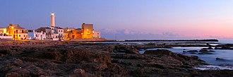 Santa Croce Camerina - The lighthouse in the frazione Punta Secca