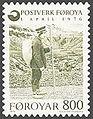 Faroe stamp 017 old postman.jpg