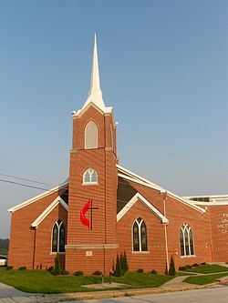 Fawn United Methodist, Fawn Grove, York Co PA.jpg