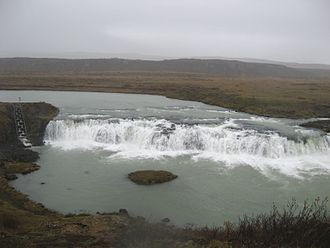Faxi - Faxi waterfall in October 2007