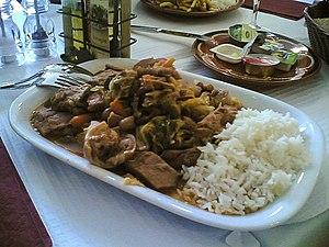 Angolan cuisine - A typical Portuguese feijoada à transmontana