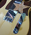 Fender American Telecaster with Callaham bridge plate and compensated brass saddles - body from bottom right.jpg
