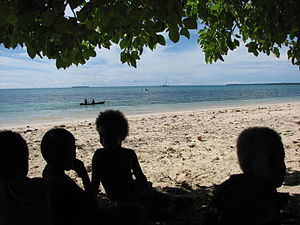 Fenualoa - Image: Fenualoa children