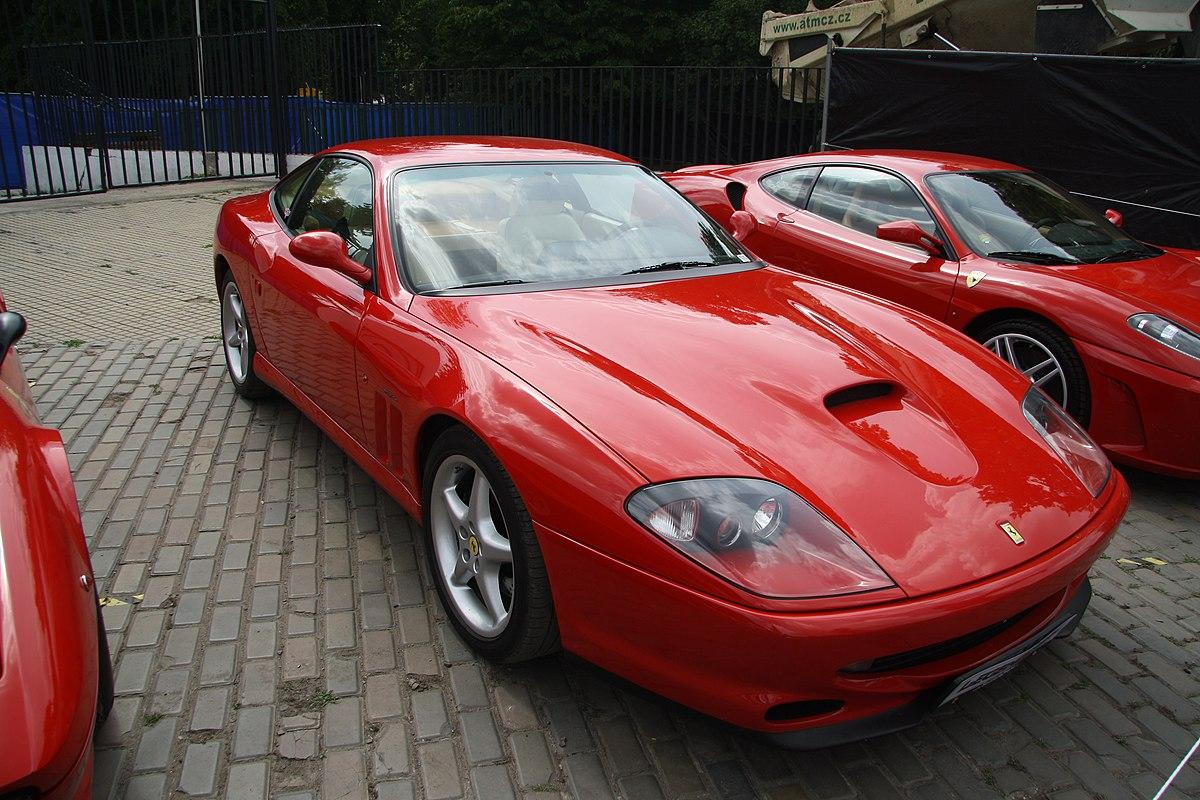 Ferrari 550 – Wikipédia 8811da9fde8ae