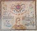 Festival of Britain tapestry souvenir from 1951.jpg