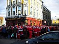 Festive overspill at the Worlds End, Camden High Street NW1 - geograph.org.uk - 1617299.jpg