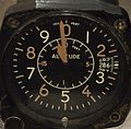 Fighter aircraft altimeter Bulova B-11.JPG