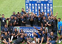 Fiji national rugby union team, 2013 IRB Pacific Nations Cup Champions.jpg