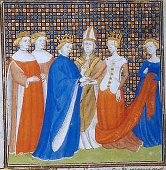 Bertha of Holland - Bertha of Holland marrying King Philip I