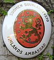 Finnish Embassy Coat of Arms in Budapest.jpg