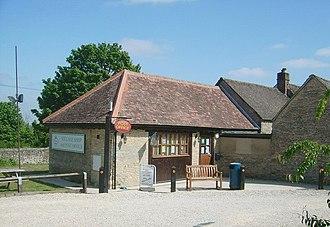 Finstock - Village shop and post office in School Road