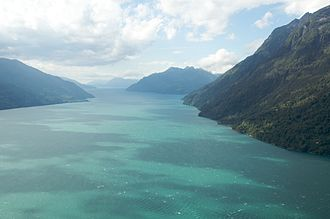 Fjords and channels of Chile - Image: Fiordo Comau