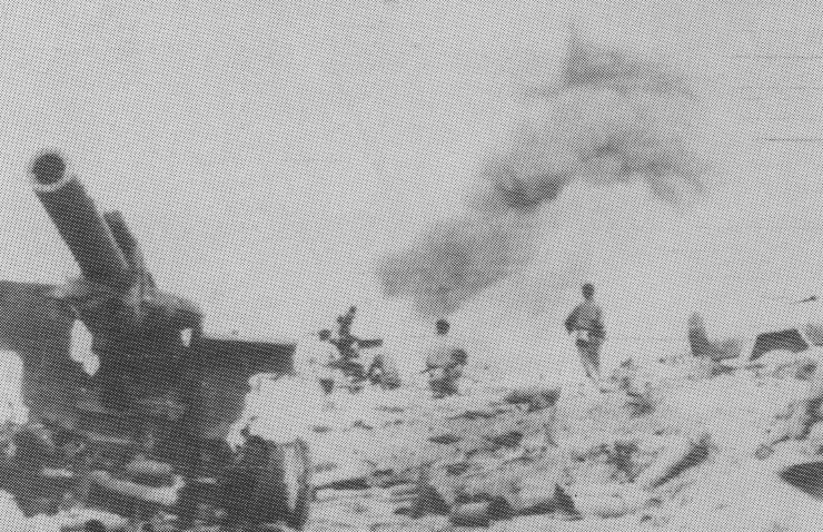 Fire Support Base Lolo being overun during Operation Lam Son 719 - 1971
