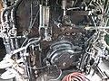Firebox door in the cab of steam locomotive 1112 (26799433121).jpg