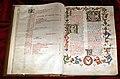 Firenze, messale copiato da suor petra, 1447 ca. (conventi soppressi 235) 01.jpg
