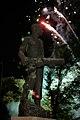 Fireworks erupt over the John Basilone Statue in Raritan, N.J.(090925-M-4003C-058 (3974779804)).jpg