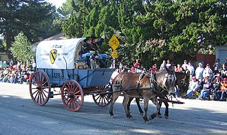 Pasadena Tournament of Roses Association - 1st Cavalry U.S. Army, Fort Hood, Texas, at the 2007 Rose Parade