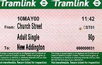 First Day Ticket 10th May 2000. Opening of Croydon Tramlink. - Flickr - sludgegulper.jpg