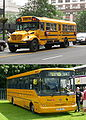 First Student IC school bus 202076 and First H&D 68553.jpg