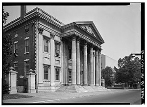 Heritage Documentation Programs - Image: First national bank US with HABS border