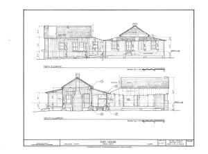 Fish House, Macclenny, Baker County, FL HABS FL-397 (sheet 4 of 10).png